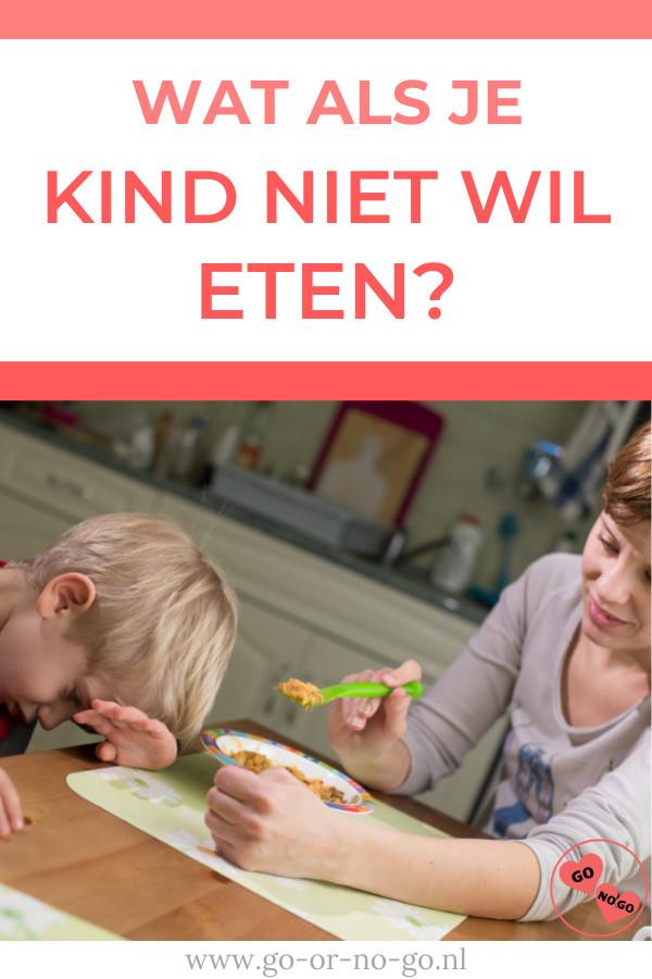 Als je kind niet wil eten, word je daar wanhopig van. Houd moed, want het gaat op den duur echt beter. Niet eten is vaak een fase.
