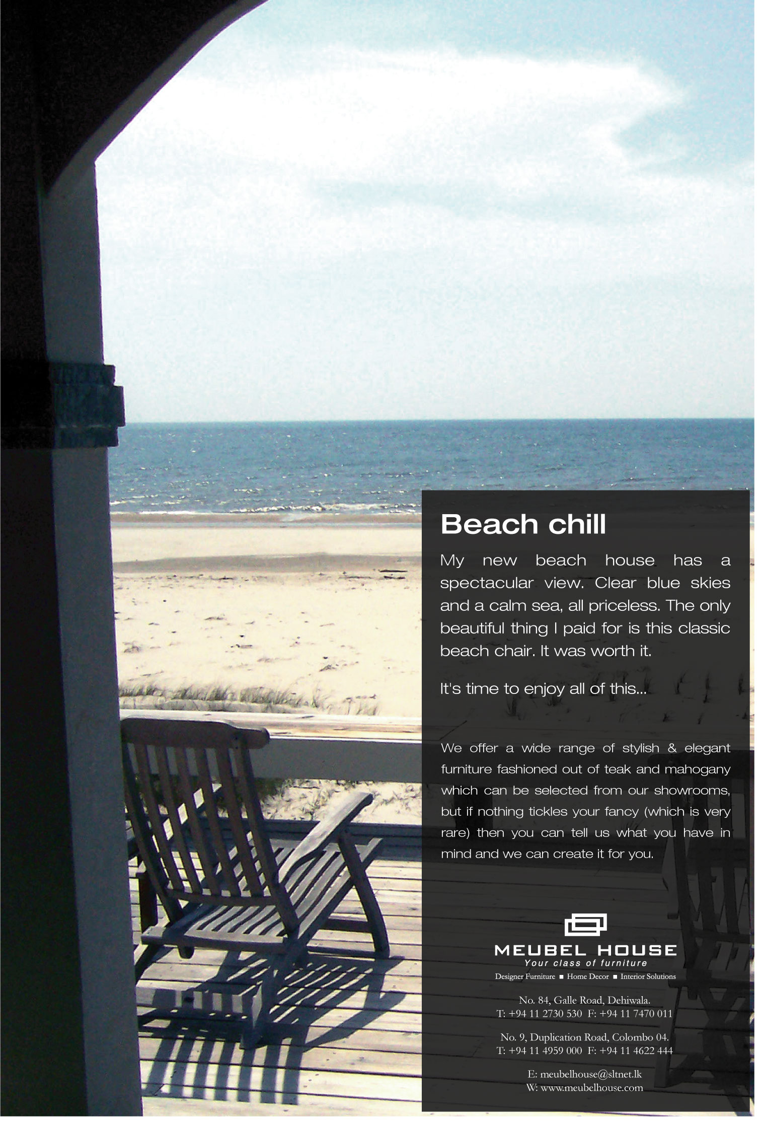 bench chill ad by go strategic communications