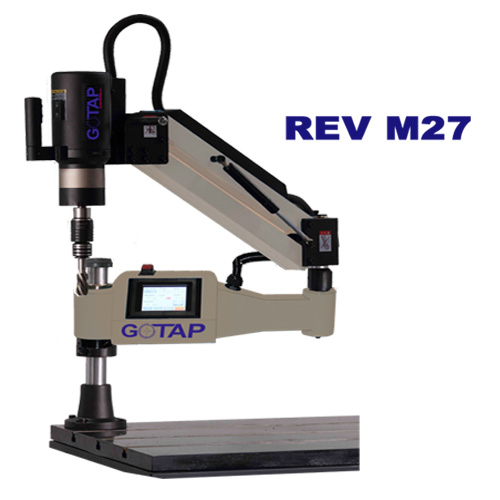 Rev M27 M6 M27 Electrical Tapping Machine Gotap Electrical