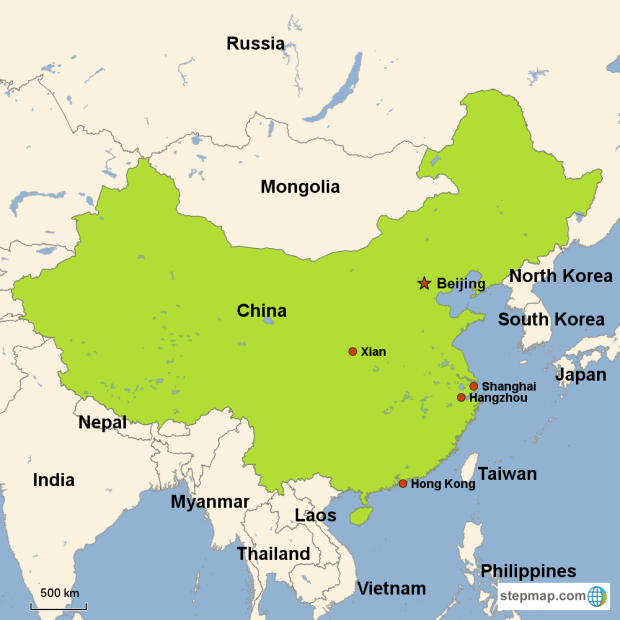 Image result for CHINA MAP TODAY