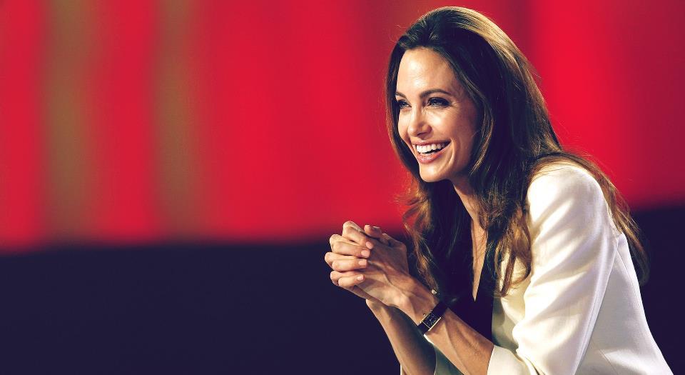 安祖蓮娜祖莉 Angelina Jolie   Go.Asia 愛心起動
