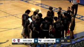 Boys HS Basketball – Tates Creek at LCA