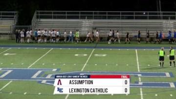 Challenge Cup – Lexington Catholic vs Assumption – Girls HS Soccer