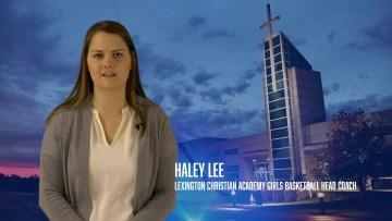 Coach Haley Lee LCA Girls Basketball