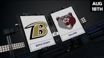 Ft. Harrod Bowl – Boyle County vs Ballard