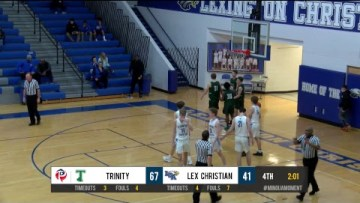 Trinity at LCA – Boys HS Basketball Presented by Mingua Beef Jerky