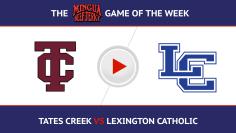 Tates Creek vs Lex Cath