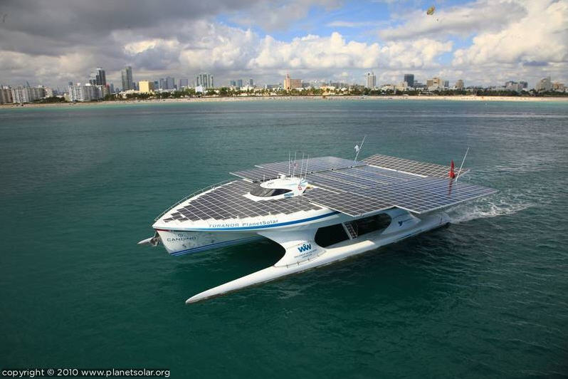 Go 100 Renewable Energy First Solar Boat Expedition