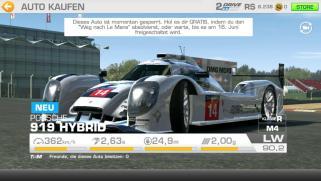 Real Racing 3 Porsche 919 Hybrid