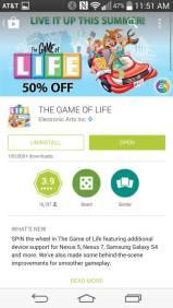 Google PLay Store Rückgabe von Apps