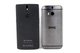 OnePlus One vs. HTC One M8