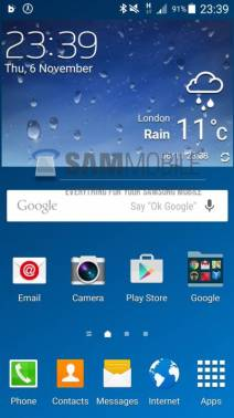 Samsung Galaxy S4 Android 5.0 Lollipop Alpha