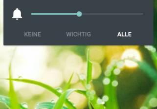 Android 5.0 Lollipop Klingelautstärke