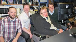 SwiftKey für Stephen Hawking