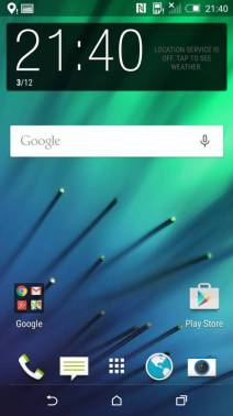 HTC One M8 mit Android 5.0.1 Lollipop