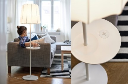 IKEA Wireless Qi Möbel