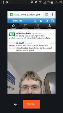 Chrome Selfie