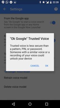 Smart Lock mit OK Google