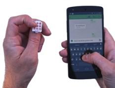 NailO Fingernagel-Touchpad
