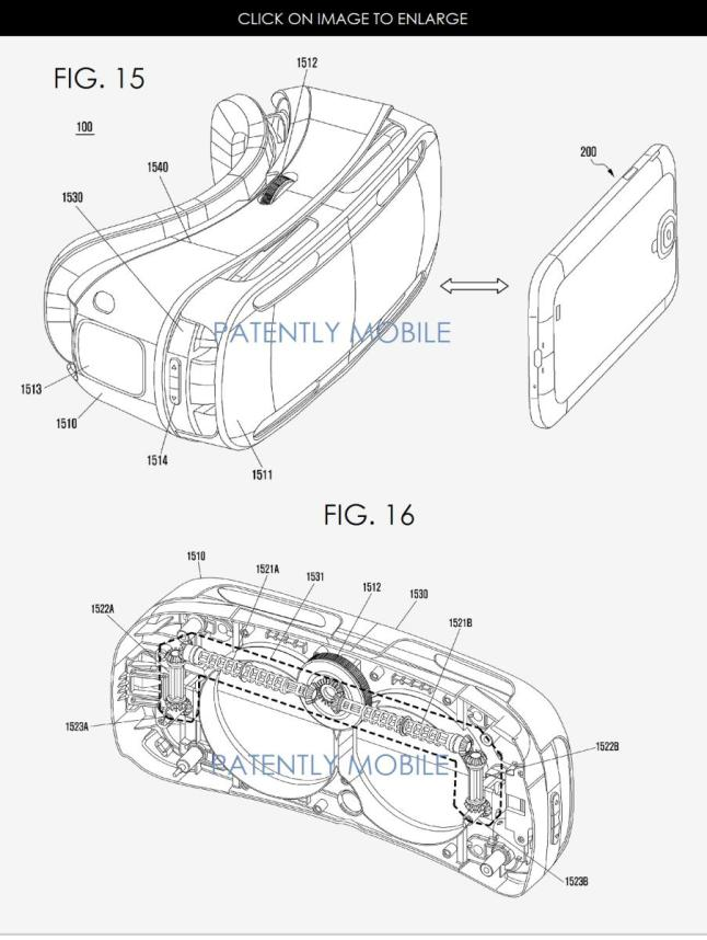 Samsung Gear VR Patent