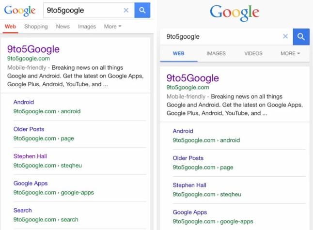 Mobile Google Suche