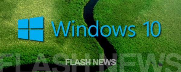 [FLASH NEWS] Windows 10: Microsoft startet heute in ein ...