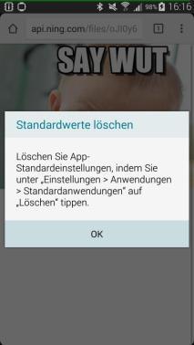 Standard-App-Verknüpfung