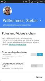 Google Fotos Auto-Backup
