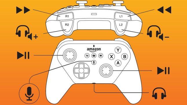 Amazon Fire TV Gamepad 2nd Gen.