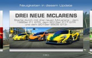 Real Racing 3 McLaren-Update