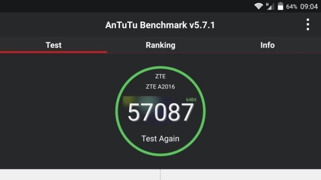ZTE Axon Elite Test