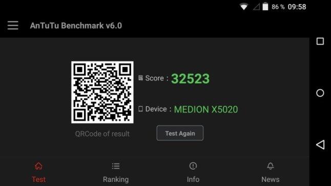 MEDION X5020 Test