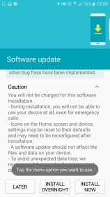 Samsung Galaxy S6 edge Marshmallow-Beta