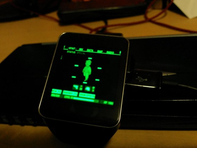 Pip-Boy für Android Wear Smartwatch