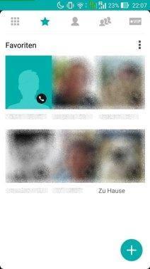 ASUS Dialer & Kontakte App