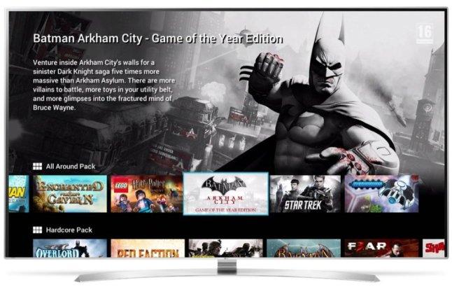 GameFly für LG Smart TV mit webOS 2-0