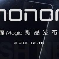 Honor Magic Konzept Smartphone zeigt sich auf einem Foto