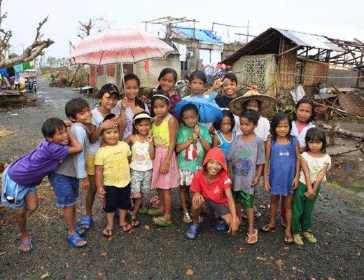Children in Cangumbang Community Center