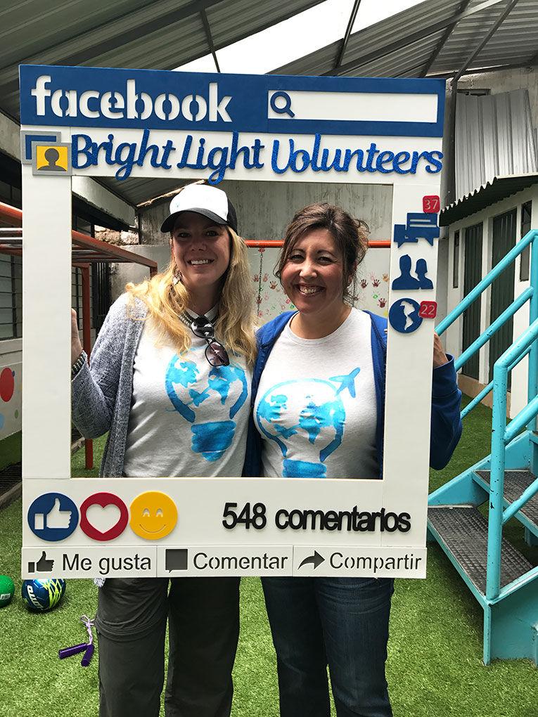 Bright Light Volunteers participants