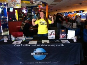 """Kayla Patterson excited about raising awareness & funds at """"Bowling for a Better World."""""""