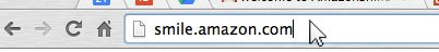 Amazon Smile URL