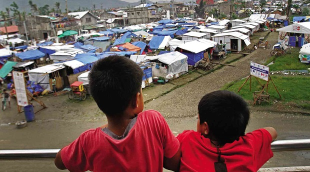One of the Many Tent Cities Left After Yolanda