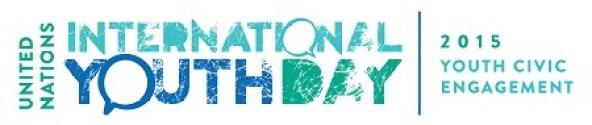International Youth Day 2015 UN Logo