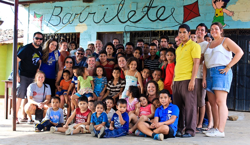 ITA staff visit to Barrilete Orphanage in Leon Nicaragua 2015 - Photo Credit: International TEFL Academy