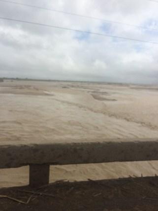 Flooded River in Peru