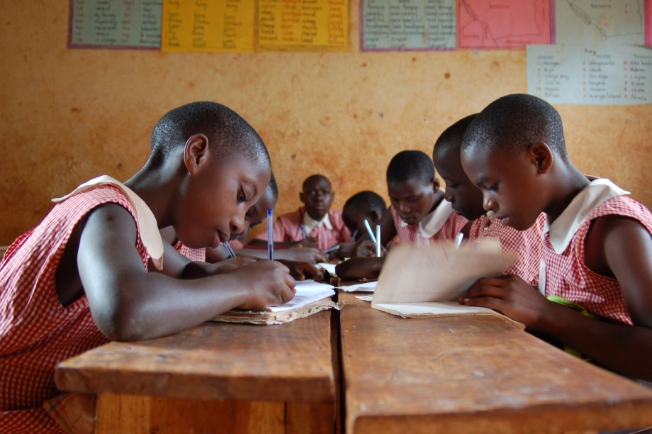 students studying in Uganda