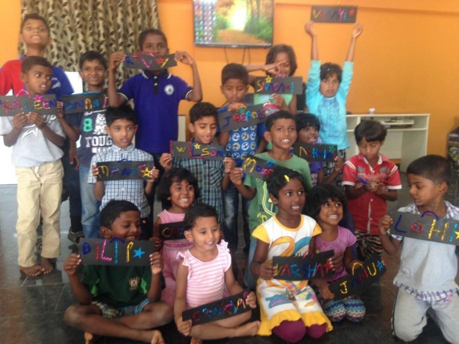 Reaching Hand homeschool students