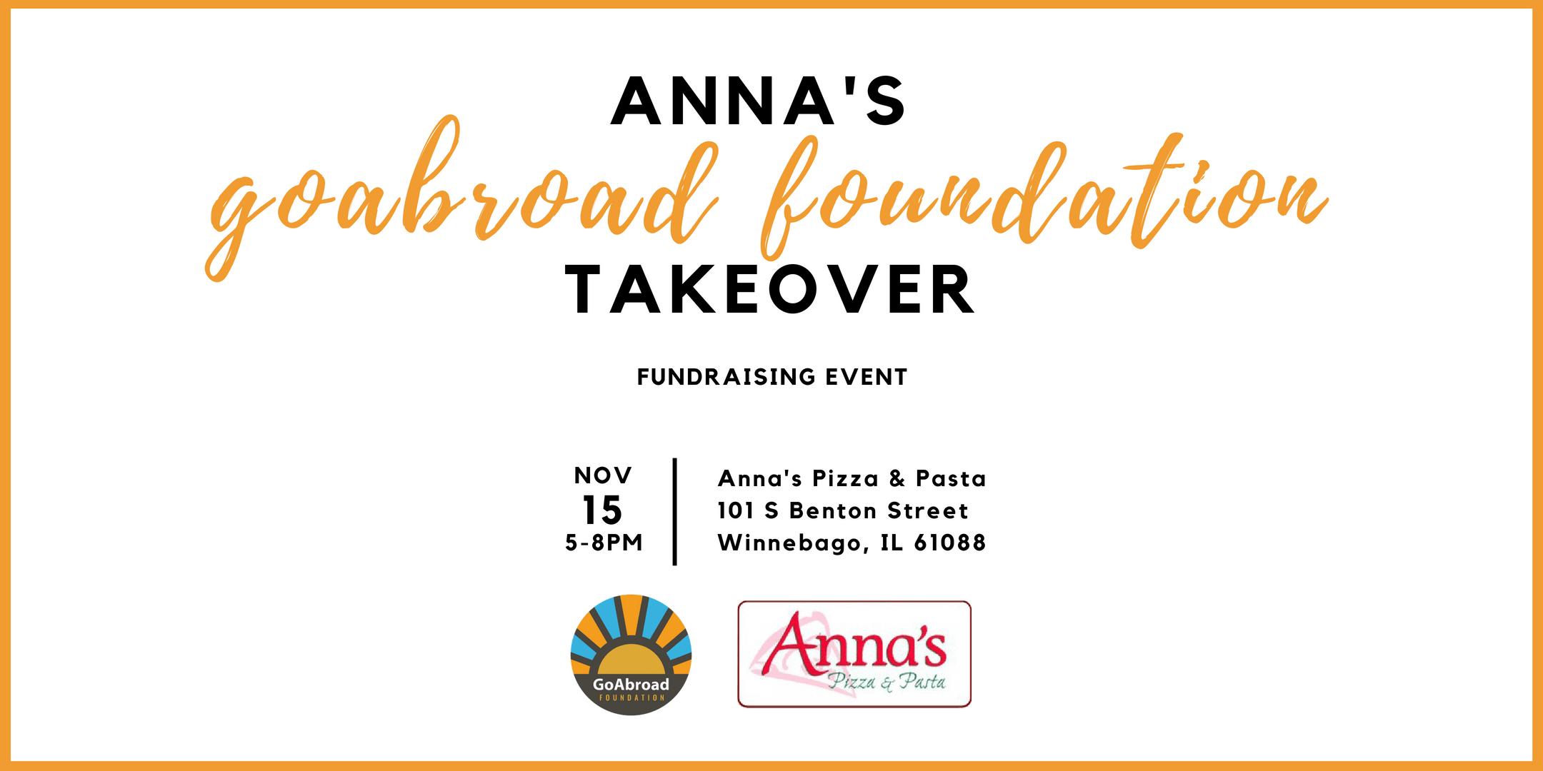 anna's fundraising event