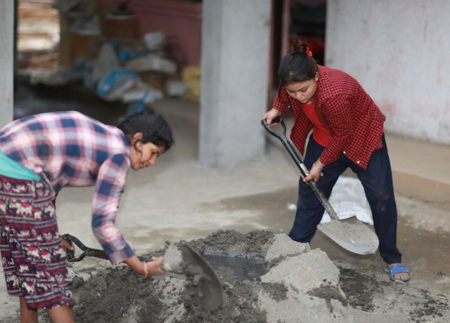 nepal construction project