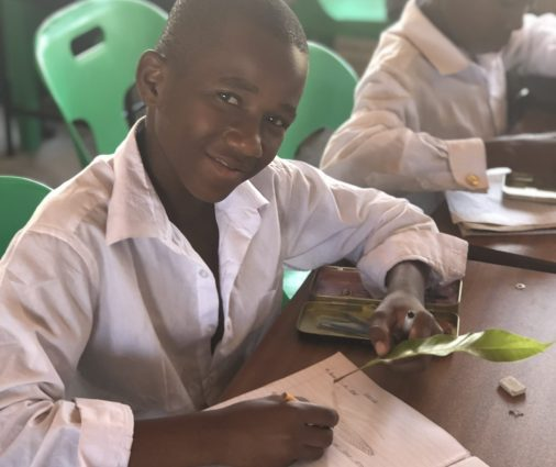 Student in Malawi